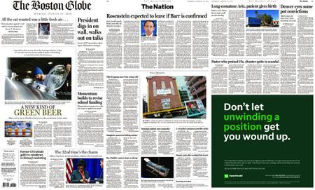The Boston Globe – January 10, 2019