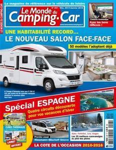Le Monde du Camping-Car - Décembre 2017/Janvier 2018