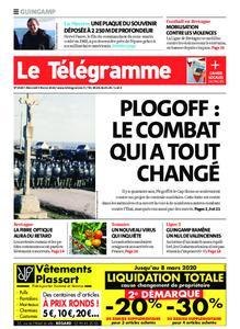 Le Télégramme Guingamp – 05 février 2020