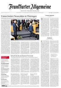 Frankfurter Allgemeine Zeitung - 6 Februar 2020