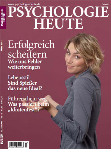 Psychologie Heute Magazin No 03 2011