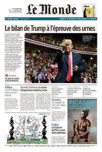 Le Monde du Mardi 6 Novembre 2018