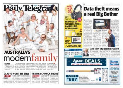 The Daily Telegraph (Sydney) – December 08, 2017
