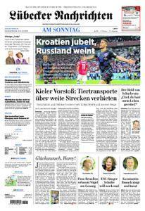 Lübecker Nachrichten Bad Schwartau - 08. Juli 2018