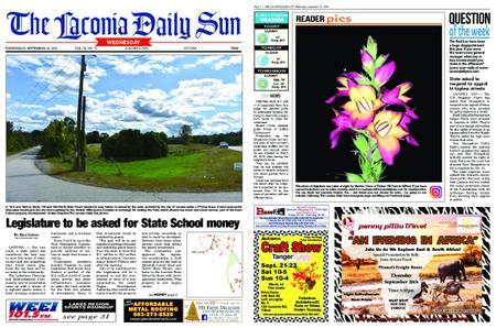The Laconia Daily Sun – September 18, 2019
