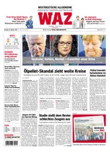 WAZ Westdeutsche Allgemeine Zeitung Oberhausen-Sterkrade - 16. Oktober 2018