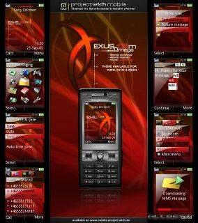 Omega  Sony Ericsson  Theme