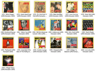 The Rolling Stones UMG 2009 Remasters Series [19 CD] (2009)