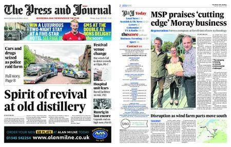 The Press and Journal Moray – August 20, 2018