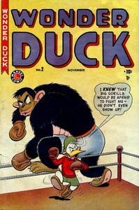 Wonder Duck 002 Timely 1949 c2c Pmack