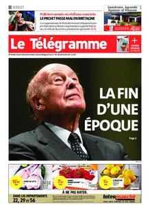 Le Télégramme Brest – 03 décembre 2020