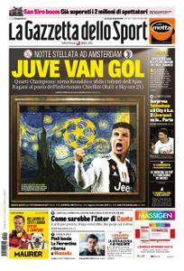 La Gazzetta dello Sport Roma – 10 aprile 2019
