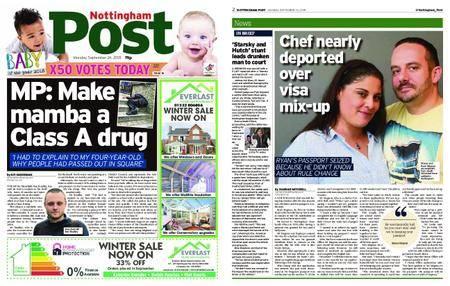Nottingham Post – September 24, 2018
