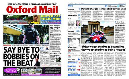 Oxford Mail – August 01, 2018