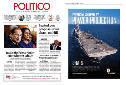 Politico – September 19, 2019