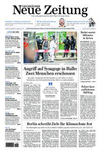 Gelnhäuser Neue Zeitung - 10. Oktober 2019