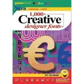 1000 Creative Designer Fonts