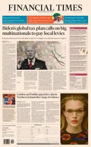 Financial Times USA - April 9, 2021