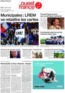 Ouest-France Édition France – 18 juin 2019