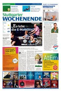 Stuttgarter Wochenende - City-Ausgabe - 21. September 2019