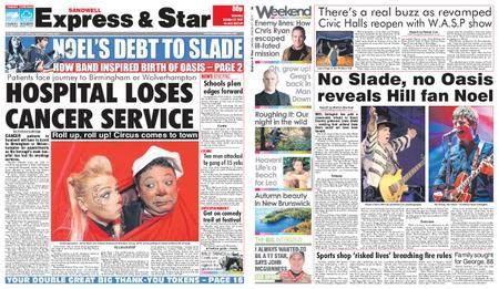 Express and Star Sandwell Edition – October 21, 2017