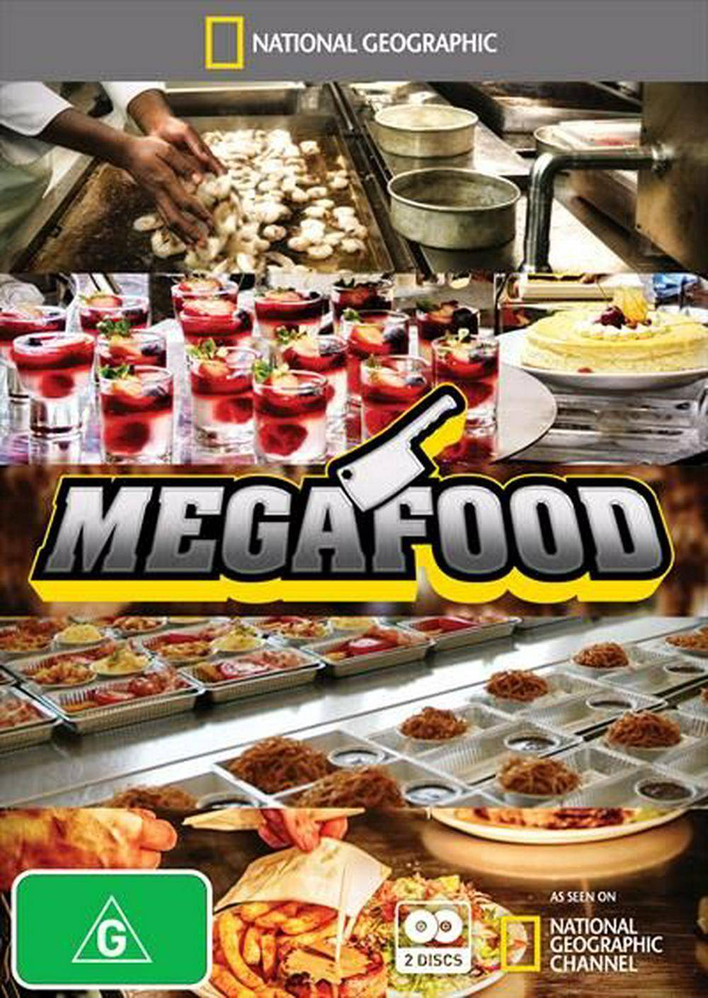 National Geographic - Mega Food: Series 1 (2012)