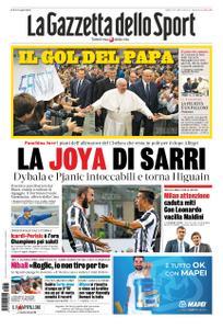 La Gazzetta dello Sport Roma – 25 maggio 2019