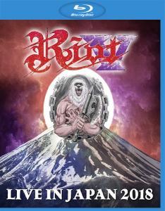 Riot V - Live In Japan 2018 (2019) [Blu-ray 1080i & BDRip 720p]