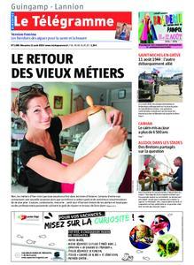 Le Télégramme Guingamp – 11 août 2019
