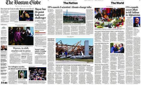 The Boston Globe – October 23, 2017
