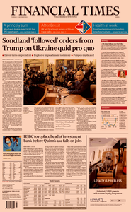 Financial Times Europe – 21 November 2019