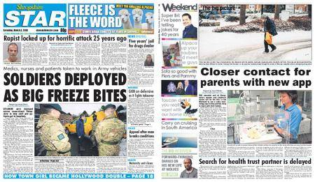 Shropshire Star Shrewsbury Edition – March 03, 2018