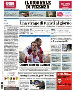 Il Giornale Di Vicenza - 17 Gennaio 2016