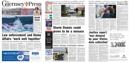 The Guernsey Press – 14 February 2020