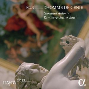 Giovanni Antonini, Kammerorchester Basel - Haydn 2032 No. 5: L'Homme de Genie (2017)