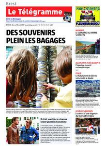 Le Télégramme Brest Abers Iroise – 14 août 2019