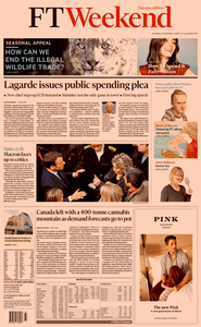 Financial Times Europe – 23 November 2019