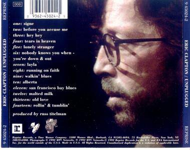 Eric Clapton - Unplugged (1992) Re-up