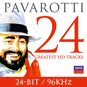 Luciano Pavarotti - Pavarotti: 24 Greatest (2013) [Official Digital Download 24bit/96kHz]