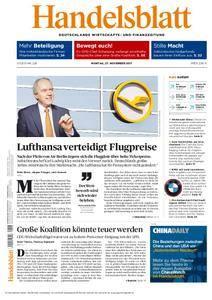 Handelsblatt - 27. November 2017