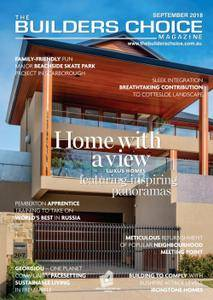 The Builders Choice - September 2018
