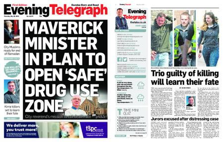 Evening Telegraph First Edition – May 30, 2019