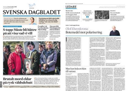 Svenska Dagbladet – 25 november 2019