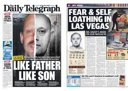 The Daily Telegraph (Sydney) – October 04, 2017