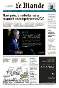 Le Monde du Vendredi 16 Novembre 2018