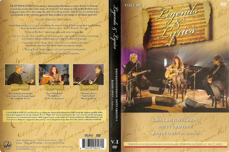 Legends & Lyrics - Volume 1: Kris Kristofferson, Patty Griffin, Randy Owen (2008) [Re-Up]