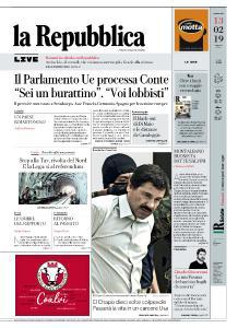 la Repubblica - 13 Febbraio 2019
