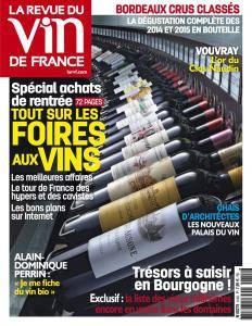 La Revue du Vin de France - Septembre 2017
