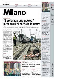 la Repubblica Milano - 26 Gennaio 2018