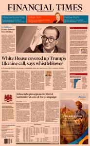 Financial Times UK – 27 September 2019